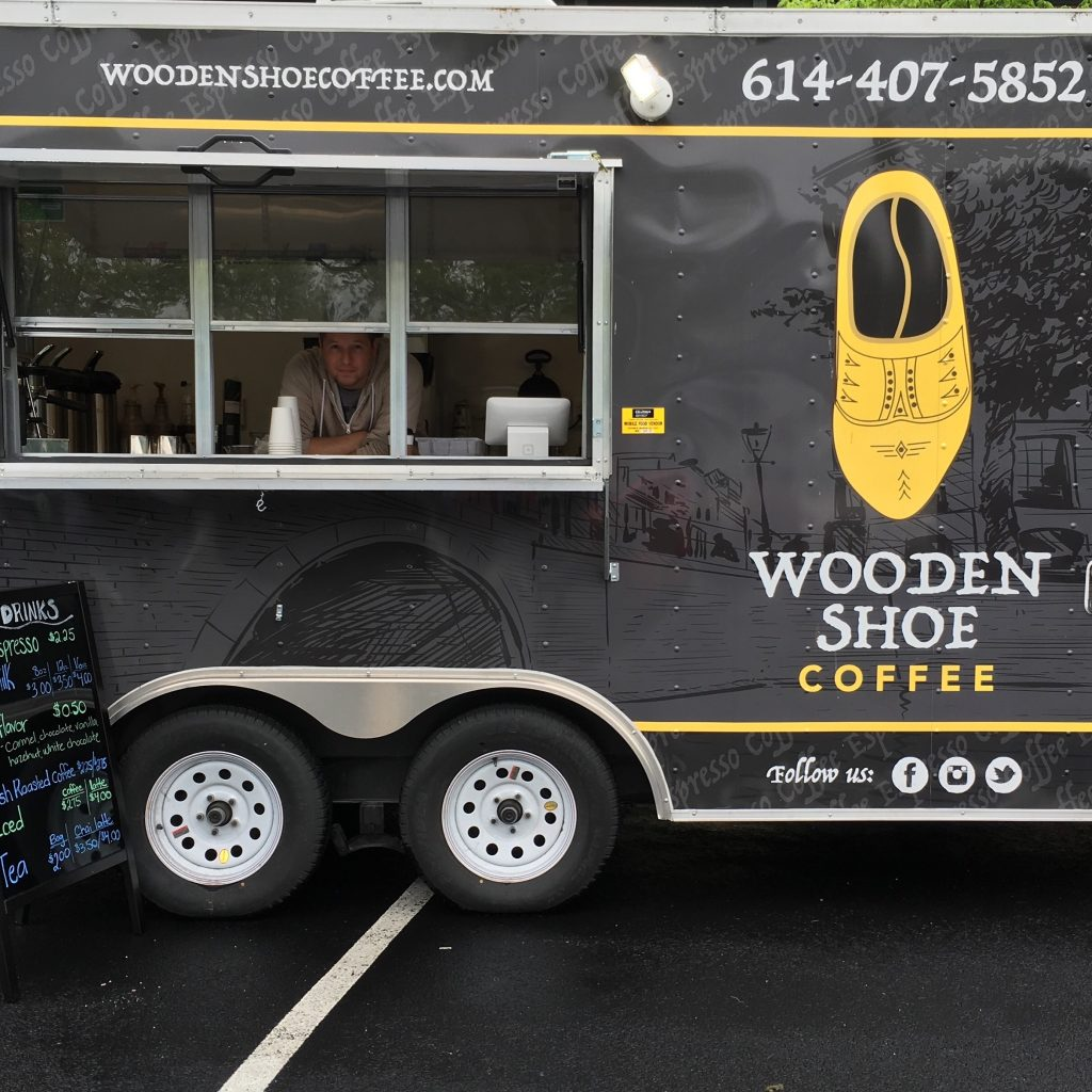 Wooden Shoe Coffee Mobile Coffee Espresso Columbus Oh